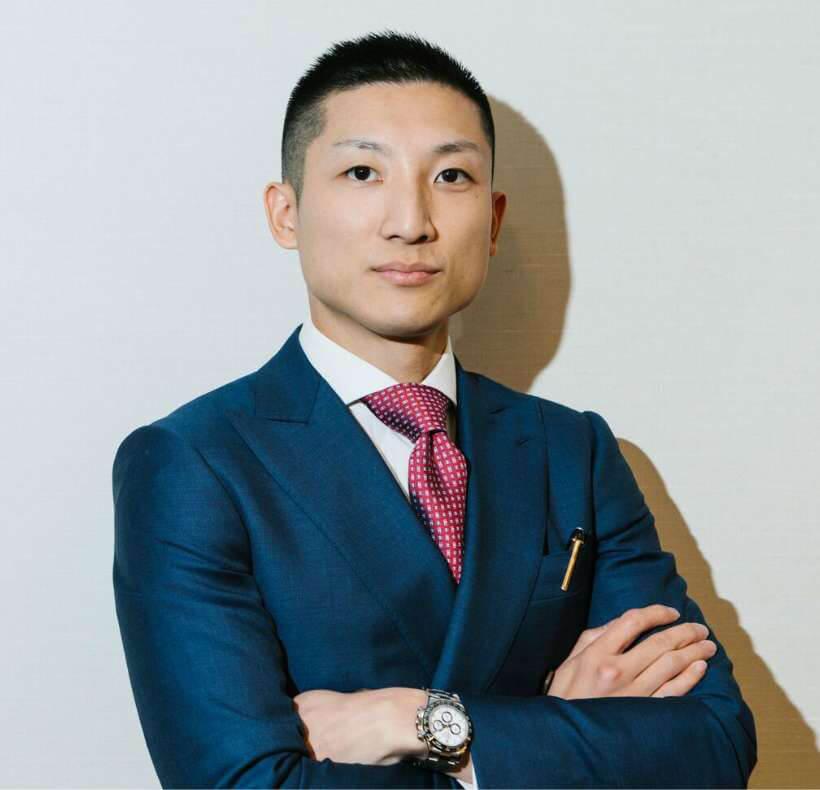 代表取締役 林尚吾の写真